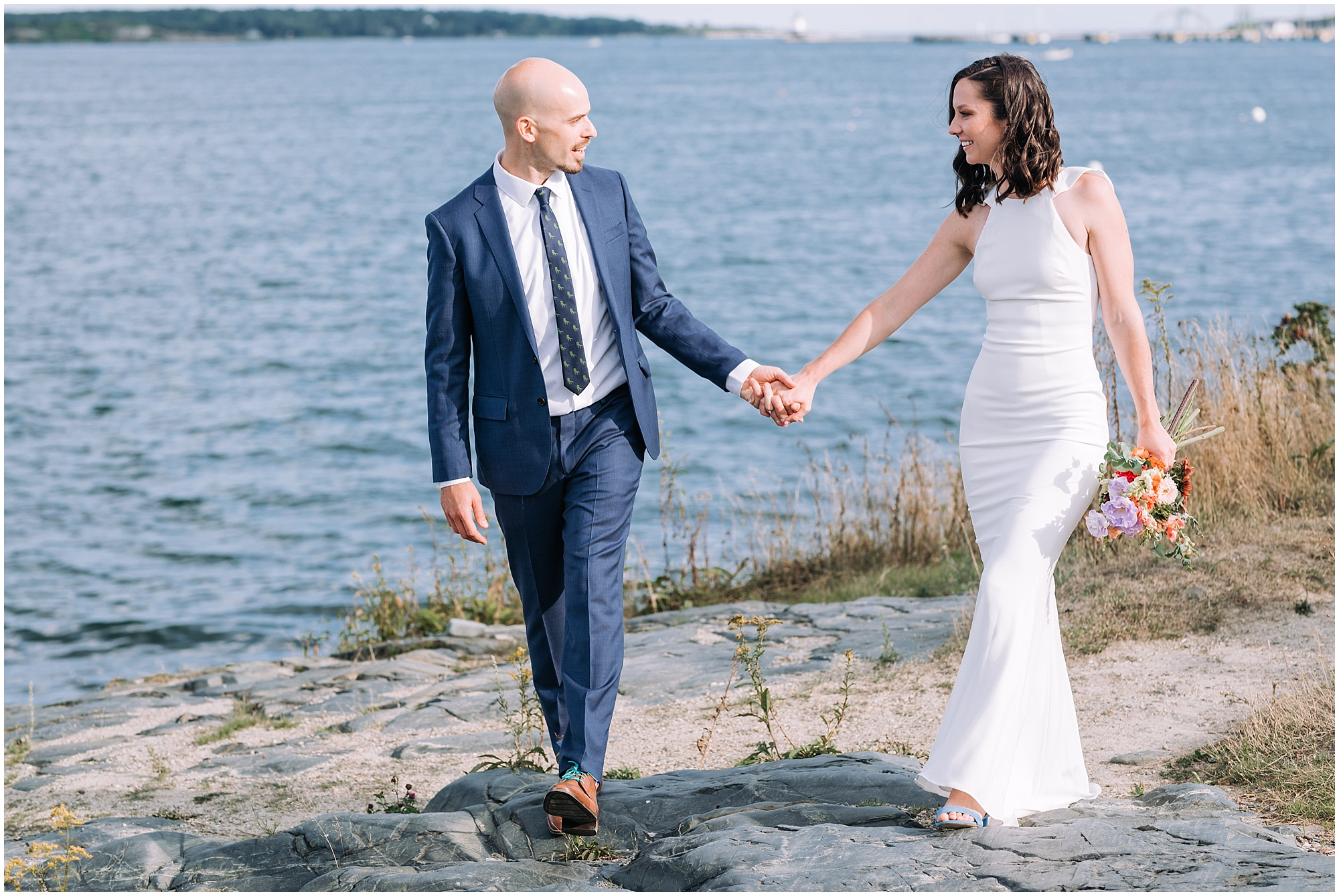 Taylor + Will || O\'Maine Studios Wedding - Emily MacCabe Photography